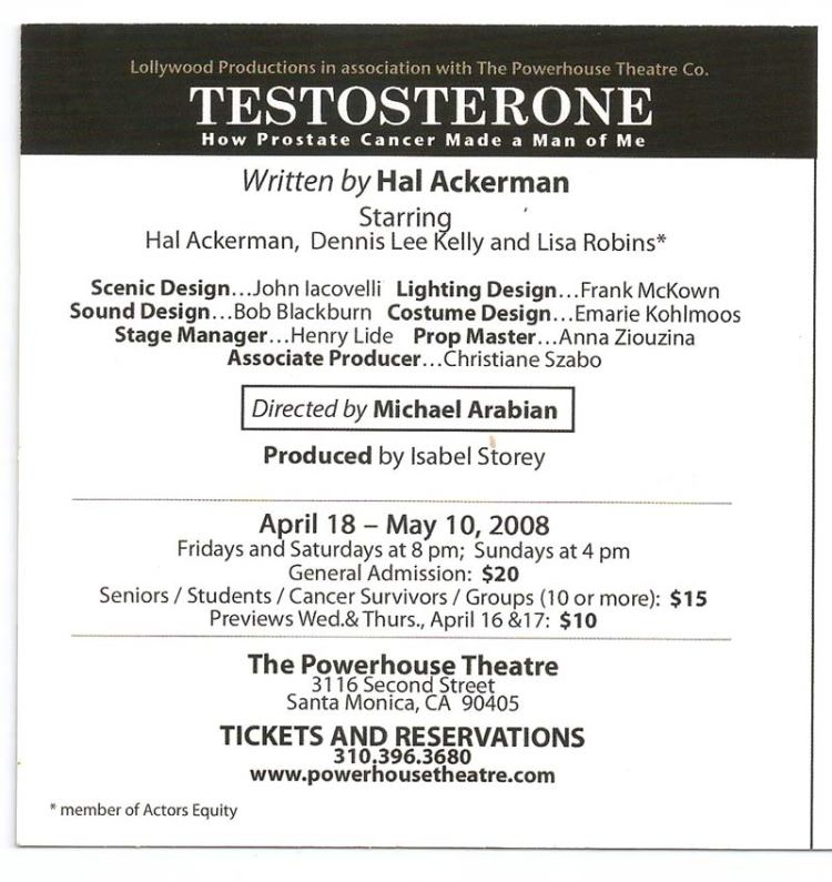 Testosterone-back