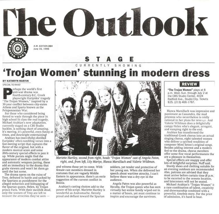 Trojan-Women-Outlook